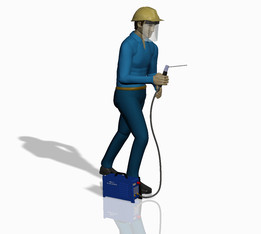 Welder worker