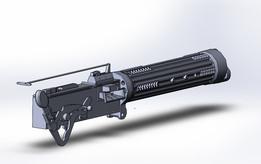 the machine gun Vickers 1915 30