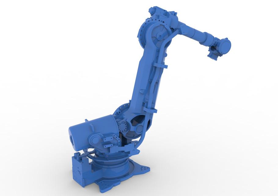 Motoman ES165D Robot | 3D CAD Model Library | GrabCAD