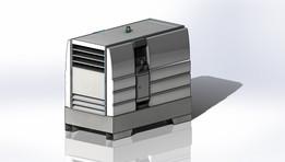 Mini diesel generator