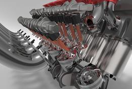 V12 Engine Improved