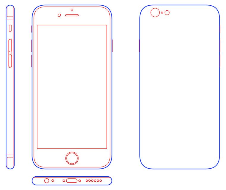 iPhone 6 - STEP / IGES - 3D CAD model - GrabCAD
