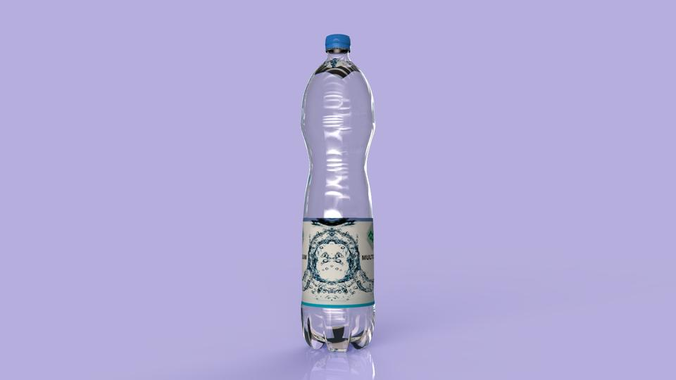 Water pet bottle | 3D CAD Model Library | GrabCAD