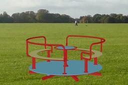 giostrina girevole per bambini - rotating carousel for children