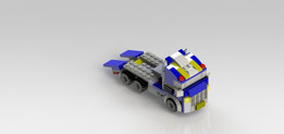 Caminhão Guincho Lego