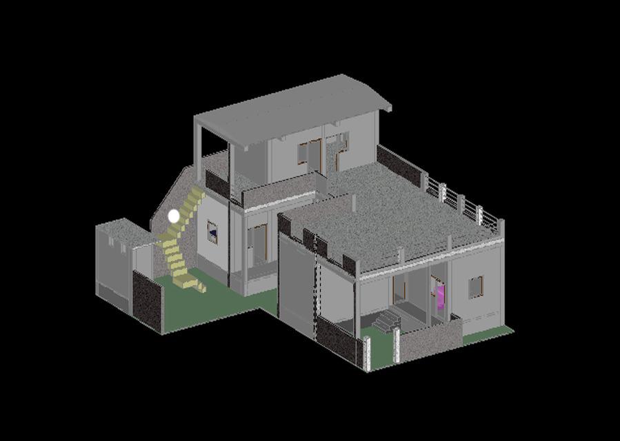 Autocad 3d home model