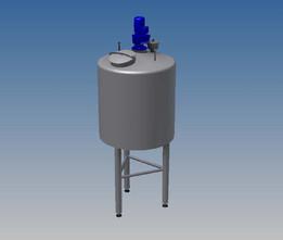 Oil mixing tank 800 litre