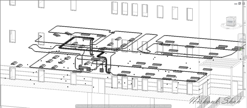 electrical plan on revit