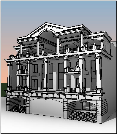 Classic Modeling With Autodesk Revit Kepler 2017 | 3D CAD