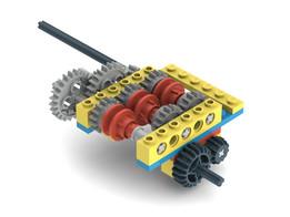 Lego Synchromesh Gearbox