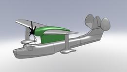 Model Contra Rotating props