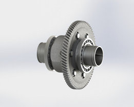 Trabant differential gear
