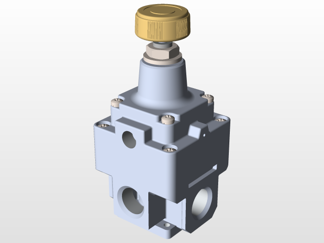 Regulador de presión de aire SMC - Air pressure regulator