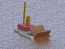 Toy Wooden Boat