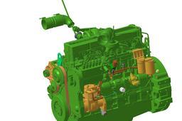 Engine cummins 6LTAA8,9