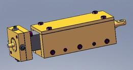 Coining Ram W/Die-Centering Mechanism