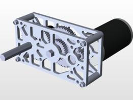 TigerBox - A Custom Gearbox by FRC team 4176