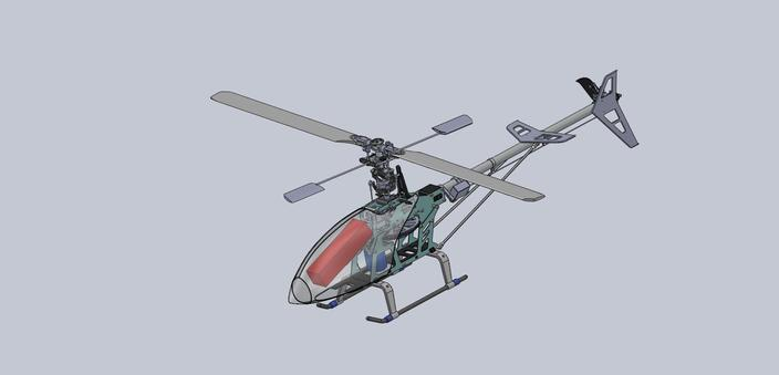 RC Helicopter T-REX 450