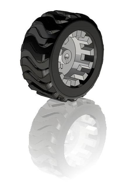 Pololu Robot Wheel | 3D CAD Model Library | GrabCAD