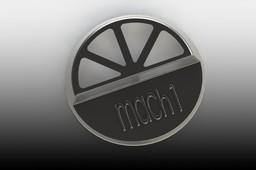 Concept-Air Cleaner Lid for 72 Mach 1 Mustang