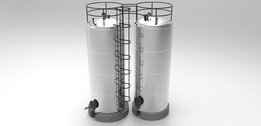 Tanks 25.000 liters