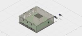 Mini-itx case for AM1H-ITX