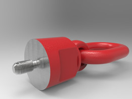 Rotating Eye Bolt With Ring