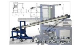 Inclination Loading Conveyor (Machinery - Adjustable Conveyor Angle)