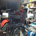 3D printed handlebar windshield (Bike Accessory Challenge; Make your commute easier )