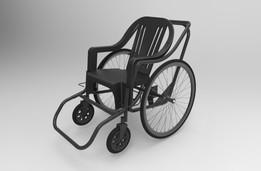 silla de ruedas de bajo costo