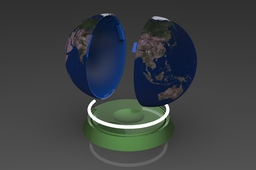 Saving Earth money box