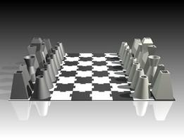 Small Printable Chess Set