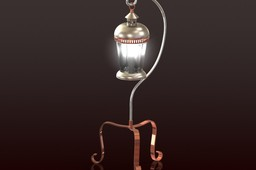 Lantern on a Small Stand