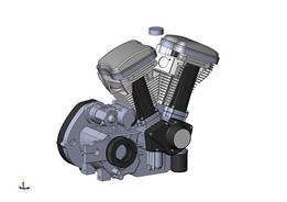 Buell XB9R -03 Engine