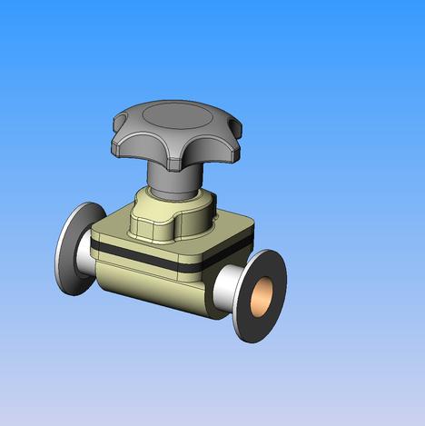 Weir valve
