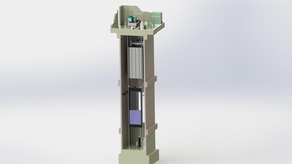 elevator cabin floor asansör kabin   3D CAD Model Library   GrabCAD
