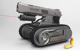Miniature Combat Bot (M.C.B.)