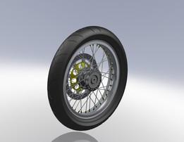 Norton Commando wheels