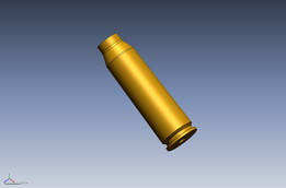 20X102MM Nato Cannon Round