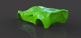 Super Car Body Concept