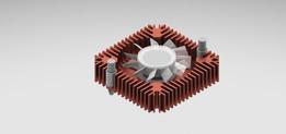 55 mm heatsink with fan