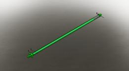 Cilindro Hidráulico de Dupla Ação - 63/28*2500mm