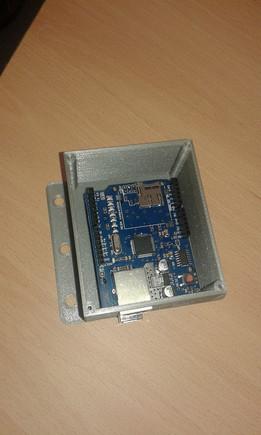 Arduino UNO+W5100 CASE