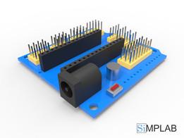 Плата расширения Arduino Nano