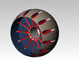 Aero-Spike Engine Part