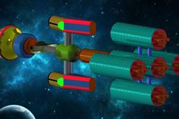 GrabCAD Spaceship design