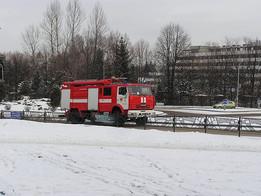KAMAZ fire truck