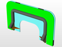 Control gauge for handle