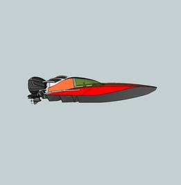 Offshore 3c Raceboat