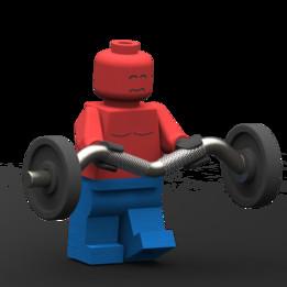 Bodyduilder lego
